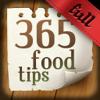 365 food tips. Full version
