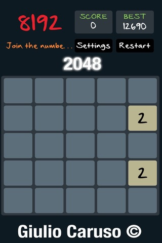 Addictive: Crazy Game 2048 Version screenshot 1