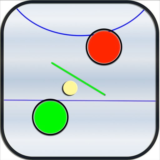 Air Hockey - Flat with Obstacles iOS App