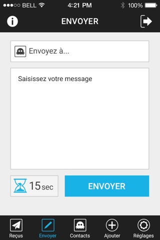 SMS Fantôme screenshot 3