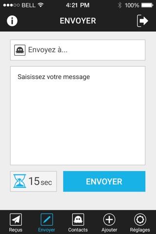 SMS Fantôme screenshot 3
