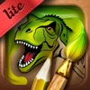 Coloring Book. Dinosaurs. Lite app free for iPhone/iPad