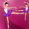 Aktiv! Sizing-Spiel Für Kinder Zu Lernen und Spielen Mit Einer Ballerina