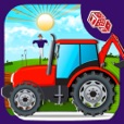 Kids Farming Tractor Sim - Driving Game