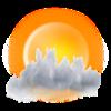UnwetterWarnung - Alarm bei Gewitter, Schnee, Sturm und Regen