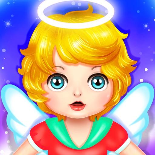 Newborn Baby Angel: Mommy's Care Kids Game iOS App