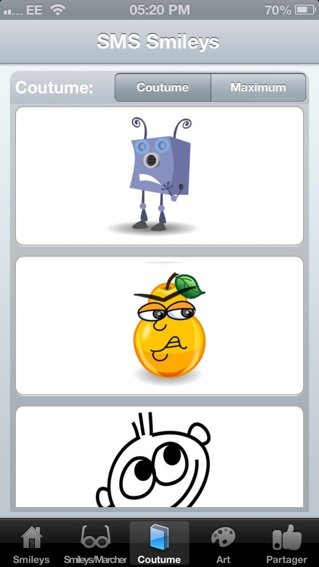 SMS Smileys Free - New Emoji IconsCapture d'écran de 3