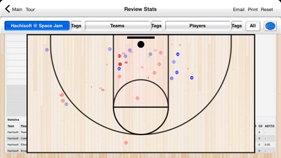 Basketball Stat Tracker screenshot1
