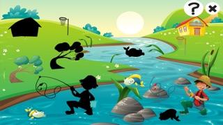 Actif! Jeu Pour Les Tout-petits Sur la Pêche: Apprendre Avec Vue Sur Mer, Eau, Poissons, Pêcheur et Canne À PêcheCapture d'écran de 3