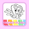 Colouring Books For Kids Pony Equestria Girl Game Edition ( Unofficial )