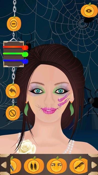 iphone screenshot 1 - Halloween Girl Dress Up