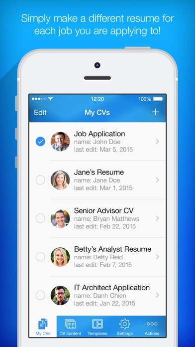 Resume Maker - Pro CV Designer on the App Store