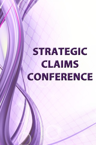 Strategic Claims Conference screenshot 1