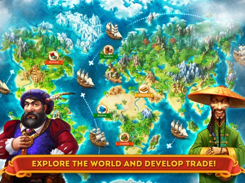 Maritime Kingdom - Trade goods, fight pirates, build an empire Screenshot