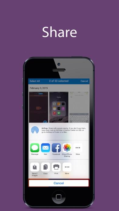 Screenshots - Find, Share, and Delete Screenshots Screenshot