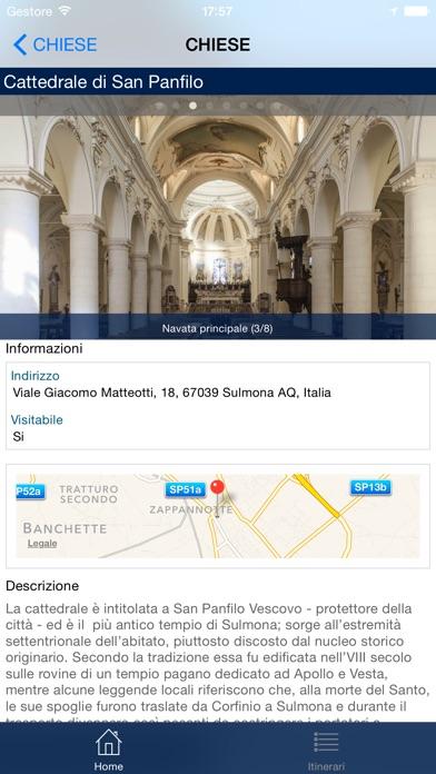 Screenshot of Visit Sulmona2