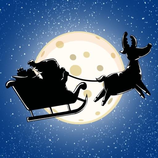 Christmas Santa Claus - Silent Night Flying Adventure iOS App