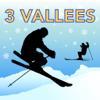 Les Trois Vallées Ski Map