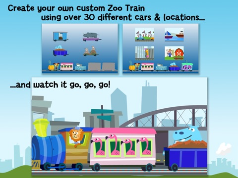 Screenshot #2 for Zoo Train