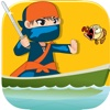 Crazy Ninja Fish Slasher Pro - best Ninja slash challenge game ninja