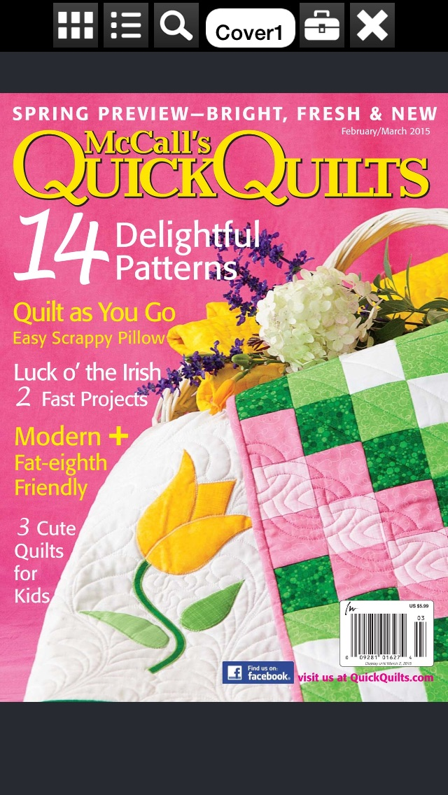 Mccalls Quick Quilts Magazine review screenshots