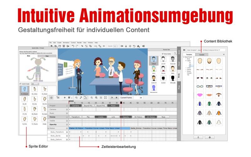 CrazyTalk Animator 2 Standard Screenshot