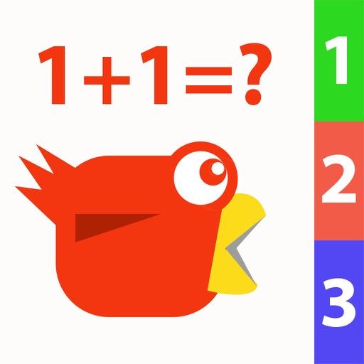 Dumb Bird Learns Math iOS App