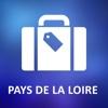 Pays de la Loire Offline Vector Map