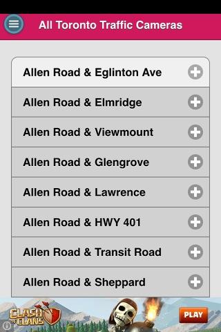 Toronto Traffic Cams screenshot 1