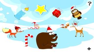 Screenshot of 123 Pazzo Conteggio del Ghiaccio, Della Neve e di Natale Animali: i Ragazzi di Imparare Gioco1