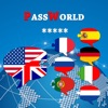 PassWorld – The conversation guide for your travels English to French - and more : Italian, Spanish, Portuguese, German, Dutch, Russian