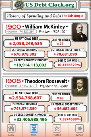 US Debt Clock .org screenshot 2
