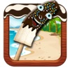 Banana popsicle Maker - Enjoy frozen chocolate ice pops in this snow cone making game