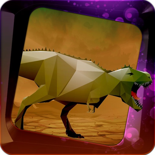 Racing Dinosaur Simulator - Speed Race With Dino In Deadly Island 3D FREE iOS App