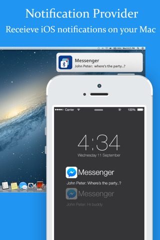 BLE Notification Provider - Receive iOS notification on Mac screenshot 1