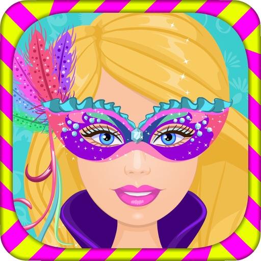 Игры для девочек рисовать на лице маску