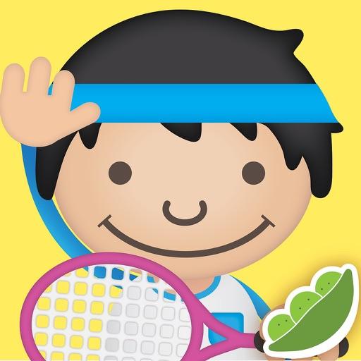 儿童运动类单词互动教学:ABC Play – words about sports with pictures, sounds and videos for kids