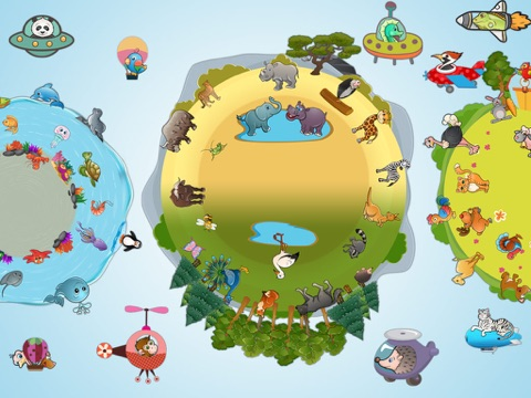Скачать игру 82 животные дети пазлы - головоломки с именами животных, звуки, фотографии, видео и забавные факты