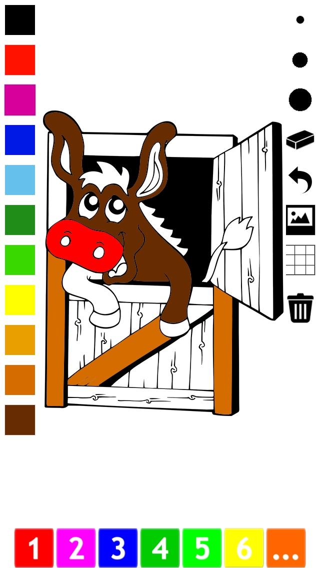 Actif! Livre À Colorier des Animaux Pour Les Enfants D'apprendre À Peindre des TableauxCapture d'écran de 1
