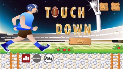 Touch Down - American Football Simulation screenshot one