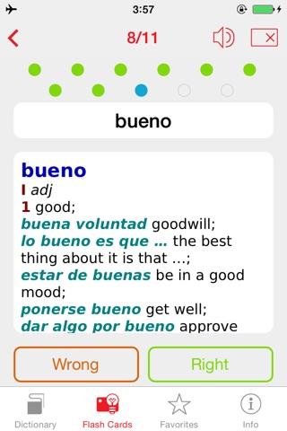 Spanish <-> English Berlitz Standard Talking Dictionary screenshot 4