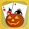 Scary Halloween Solitaire Blast - play the best classical pyramid card game