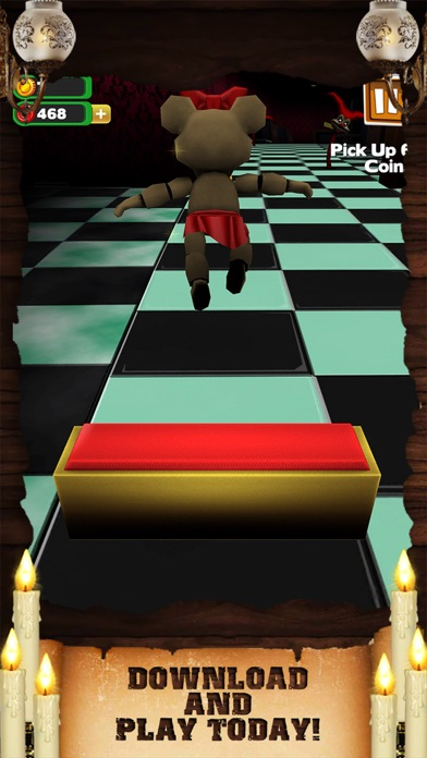 Screenshots of Creepy Monster Run Horror - Awesome Scary Hunter Dash Game For Teen Boys Free for iPhone