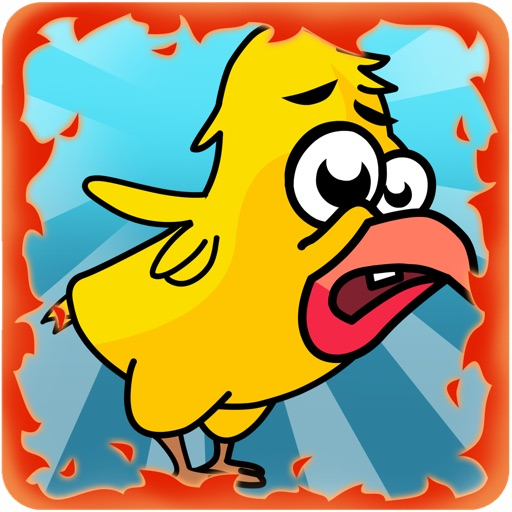 Falling Bird: Terrorfried iOS App