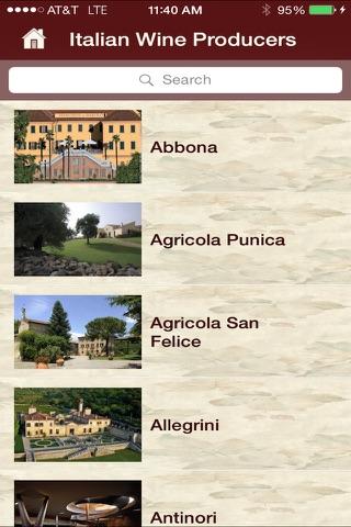 Wine Italy screenshot 1