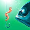 Fishing Worm Nightmare Defense - PRO - Shoot Down The Lake Monsters TD
