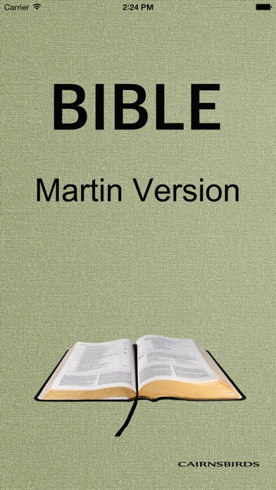 BIBLE - Martin VersionCapture d'écran de 1