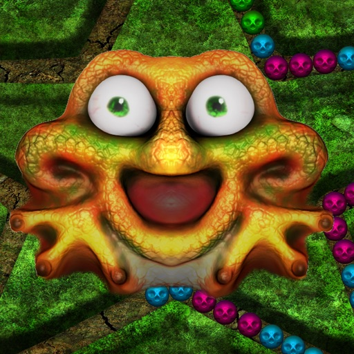 Monster Bubble Shooter Mania - cool marble matching puzzle game iOS App