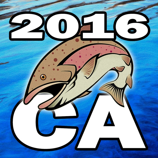 California fishing regulations 2016 app store for California fishing regulations