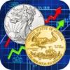 Gold Silver spot metal price market value calculator